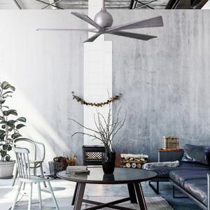 modern fan, industrial, living room