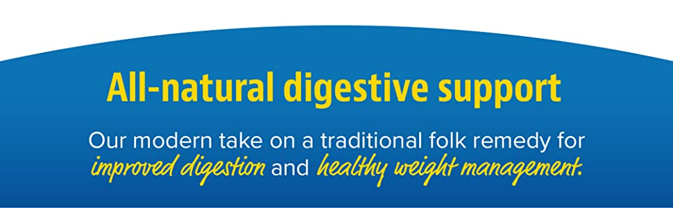 All-natural digestive support