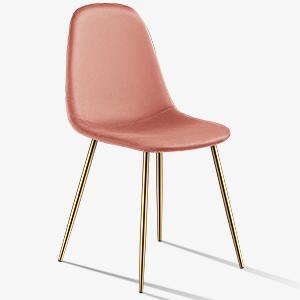 Velvet dining chairs set of 4