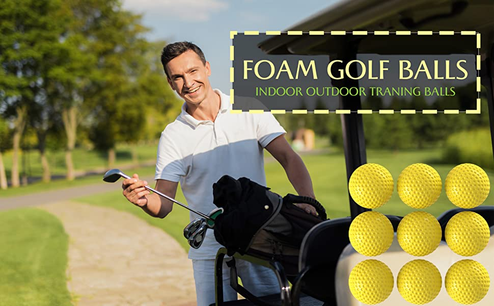 practice golf balls, foam golf balls, golf practice balls, soft golf balls foam