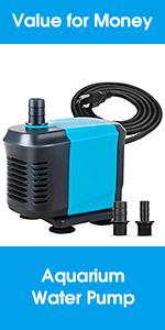 water pump pond pump fountain pump submersible pump aquarium pump submersible water pump