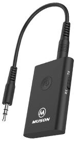 Bluetooth トランスミッター レシーバー  AAC & APT-X対応