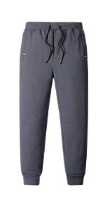 Sherpa Lined Active Running Camping Sweatpants