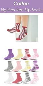 big kids non slip socks
