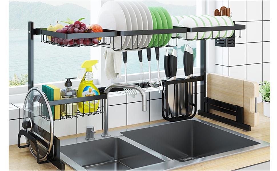 Oven Sink Dish Rack