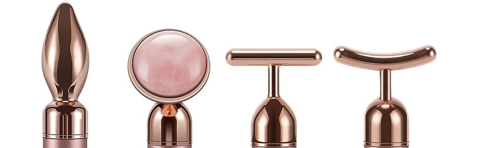 Beauty Bar 24k Golden Pulse Facial Face Massager