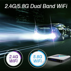 Dual Band Wifi 2.4G/5.8G