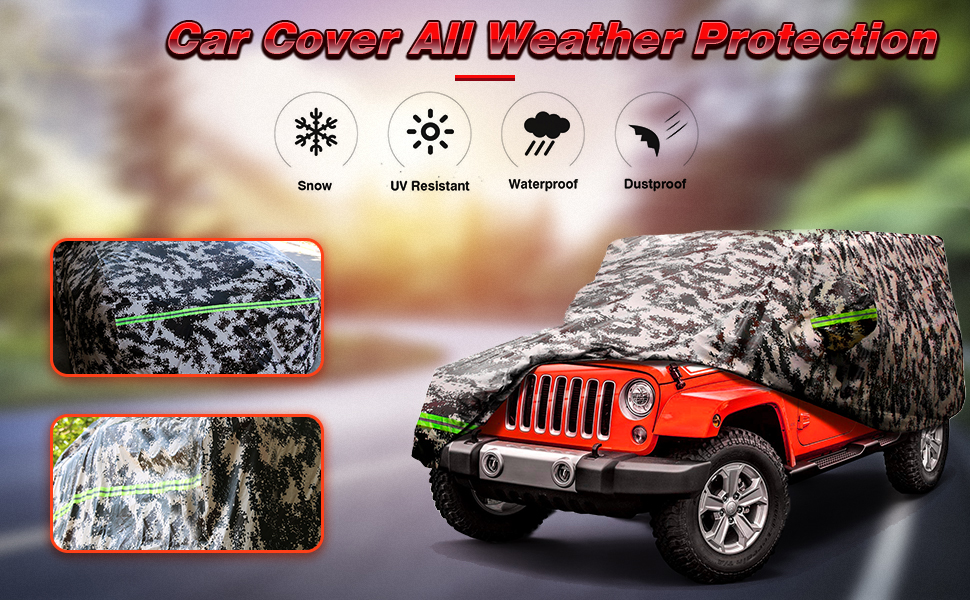 Jeep Car cover