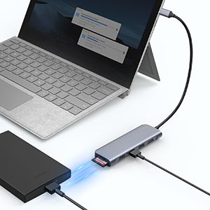 usb-c hub for fast data transfer