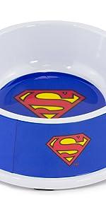 Superman Pet Food Bowl