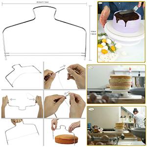Set de douilles pour pâtisserie - Poche à douille - Accessoires de pâtisserie - Plateau rotatif.