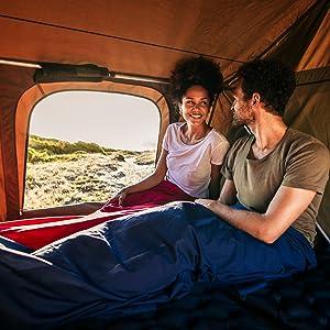 Ultraleicht Schlafsack Inlett geringes Packma/ß und hygienisch Bahidora 2 in 1 H/üttenschlafsack /& Reisedecke mit hochwertigem YKK Rei/ßverschluss Reiseschlafsack