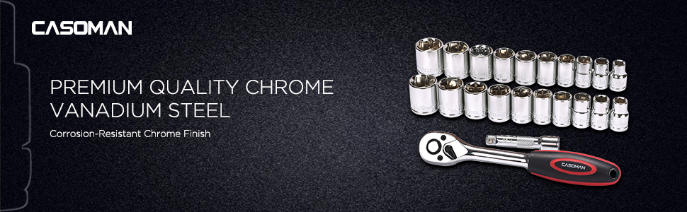 Premium Quality Chrome Vanadium Steel  Corrosion-Resistant Chrome Finish