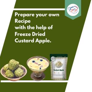 Freeze Dried Custard Apple