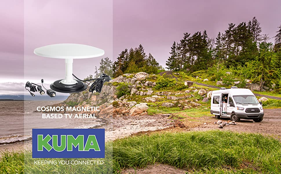 KUMA Cosmos TV Antena Amplificador Kit: Amazon.es: Electrónica