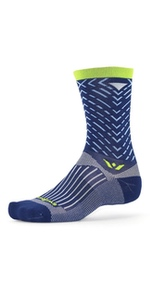 Amazon.com: Swiftwick- VISION FIVE Running & Cycling Socks ...