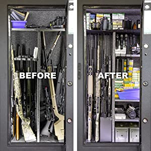 Gun Safe with Rifle Rods