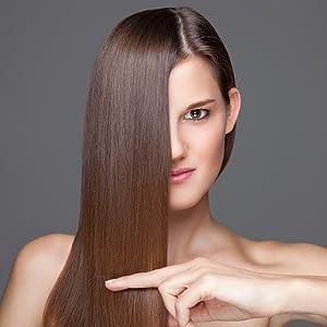 shampoo conditioner set oil products dandruff sulfate-free vitamins skin nails curly women organic