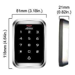 VIS-3000 outdoor keypad reader