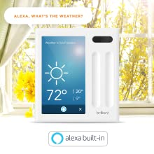 Brilliant Smart Home Control (2-Switch Panel) — Alexa Built-In & Compatible with Ring, Sonos, Hue, Kasa/TP-Link, Wemo, SmartThings, Apple HomeKit — In-Wall Touchscreen Control for Lights, Music & More 8de1757f f611 4273 b633 18c253df3b96