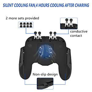 the front of the mobile gaming controller
