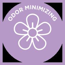 odor minimizing