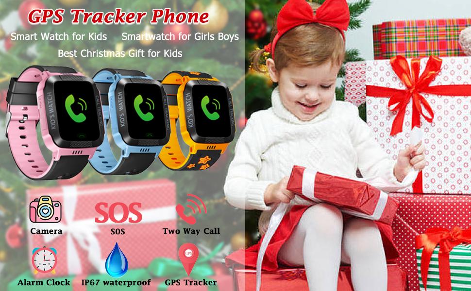 Kids Smartwatch with GPS Tracker