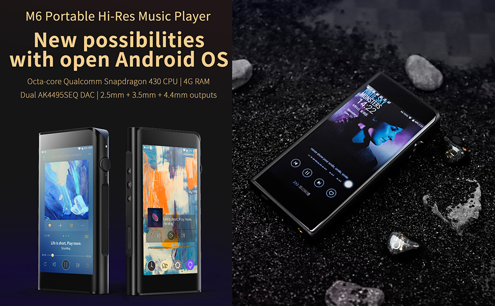 Shanling M6 Portable Hi_res Music Player
