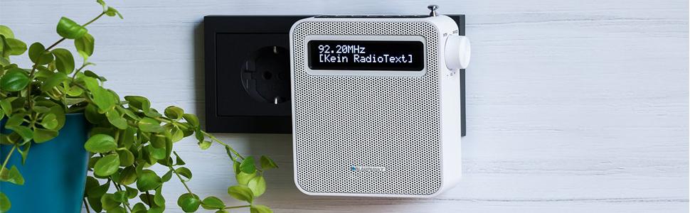 Blaupunkt Pdb 100 Steckdosen Radio Dab Digital Radio Für Die Steckdose Ukw Radio Bluetooth Dab Plus Rds Senderinformation Usb Ladefunktion Senderspeicher Teleskopantenne Weiß Heimkino Tv Video