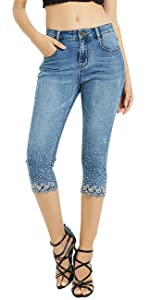 Women's Capri Jeans