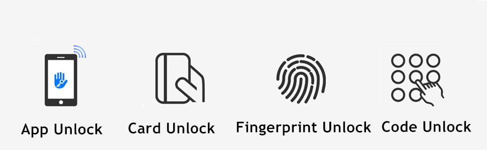 4 ways unlock