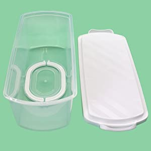 homemade bread container