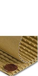 "Flexible Cross-Scored ""B"" Flute Corrugated Paper Rolls"