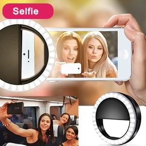 Selfie ring light for cell phone