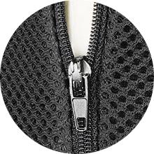 Easily Detachable Zipped Cover