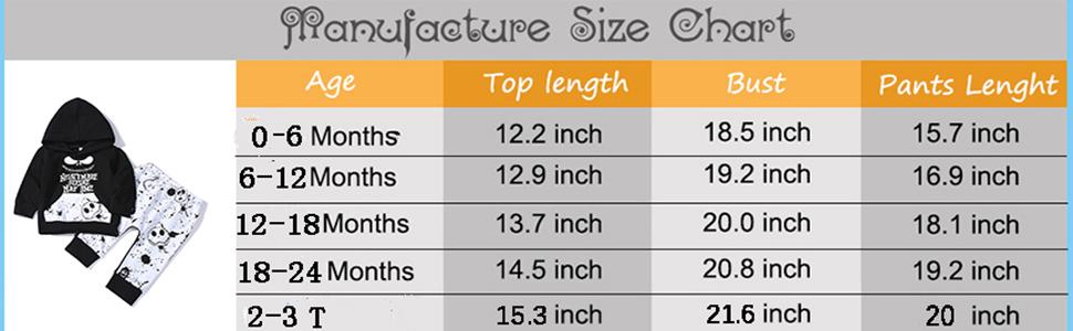 NEW Jack Skellington Halloween Infant Baby Costume Size 6-12 M Months