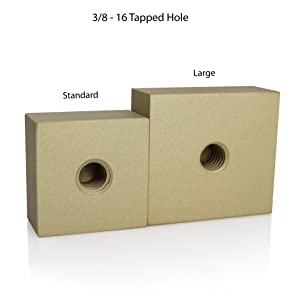 3/8 tapped hole, branding head attachment, branding handle size
