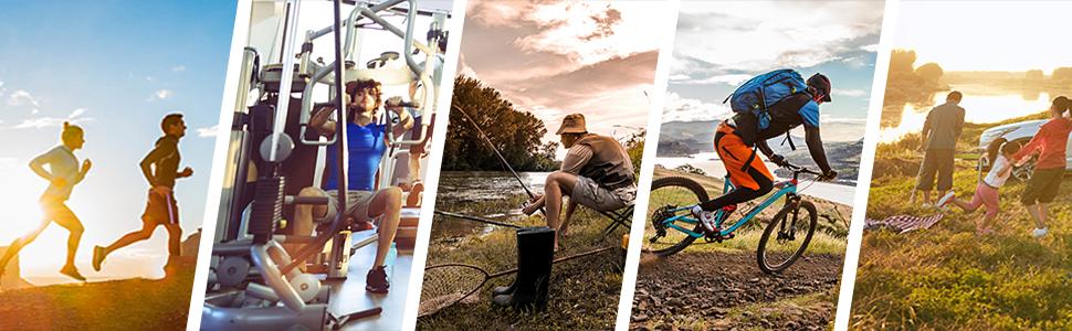 Shorts de Cyclisme VTT pour Homme Short de Sport Extérieur Loisirs Shorts de Baggy Légers Ample