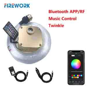 2020 upgraded bluetooth app twinkle star ceiling light kit