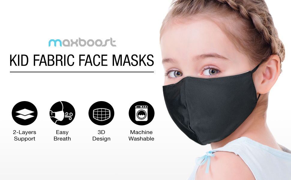 Maxboost Reusable Fabric Mask