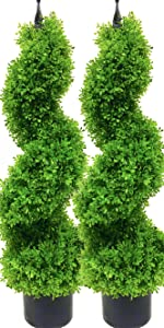 Boxwood Topiary Artificial Trees/Faux topiary trees