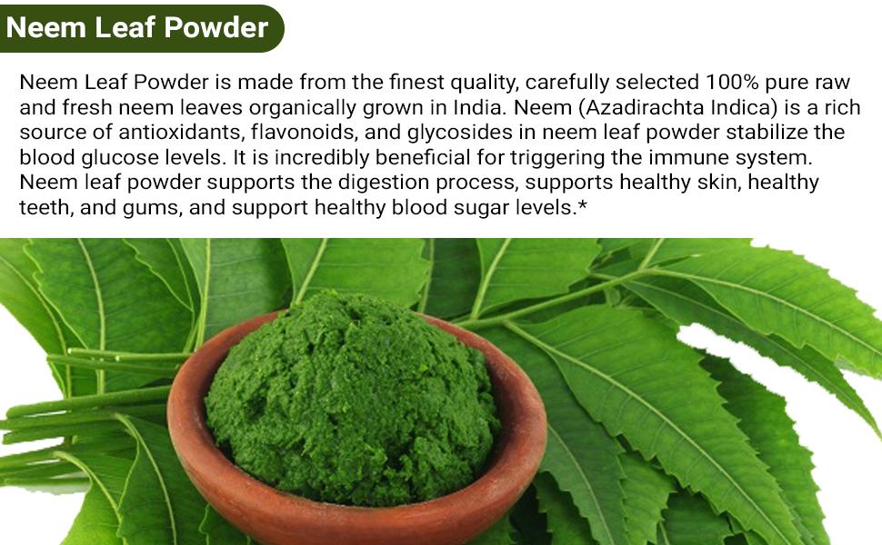 Neem leaf Powder organic