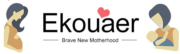Ekouaer Women's Robe for Maternity