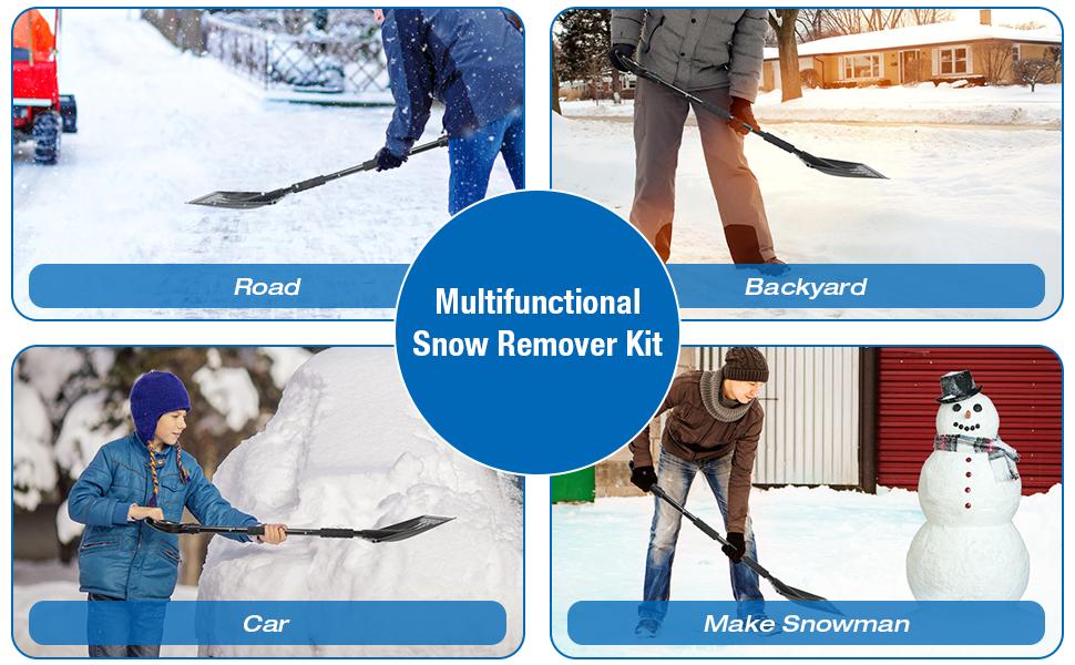 Snow Car Removal Tool Set
