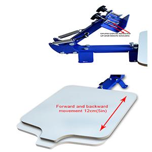 Adjustable Pallet & Clamp
