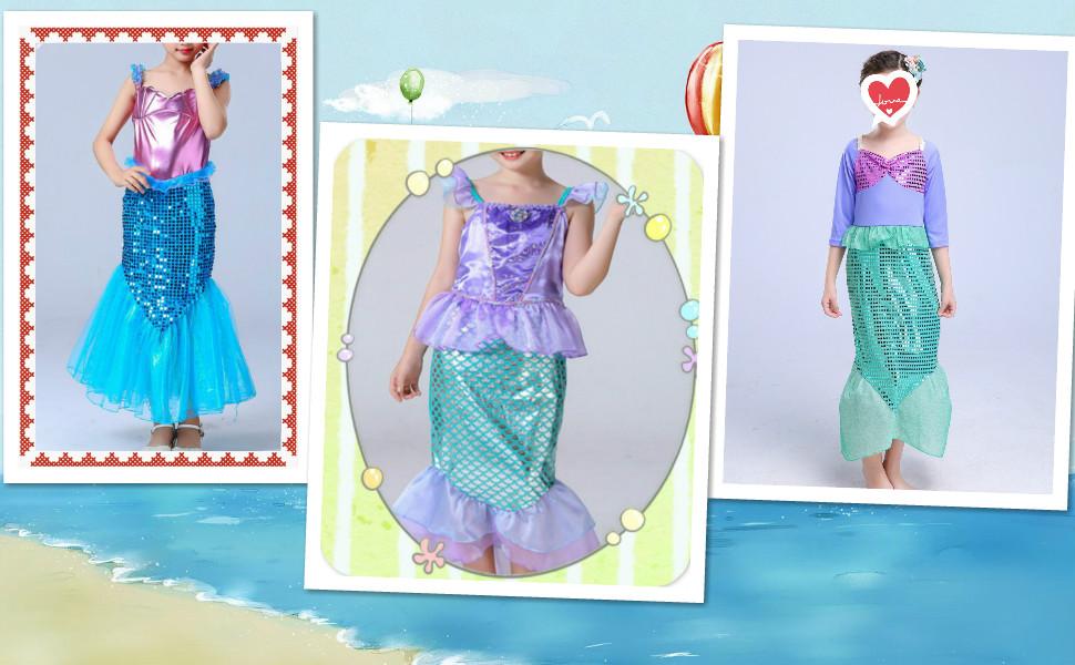 mermaidress for girls