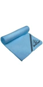 Quick Dry Off Swimmers Shammy for Swimming Diving Flow Premium Swim Chamois Towel Gray and Other Water Sports