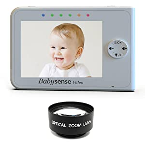 babysense optical zoom view