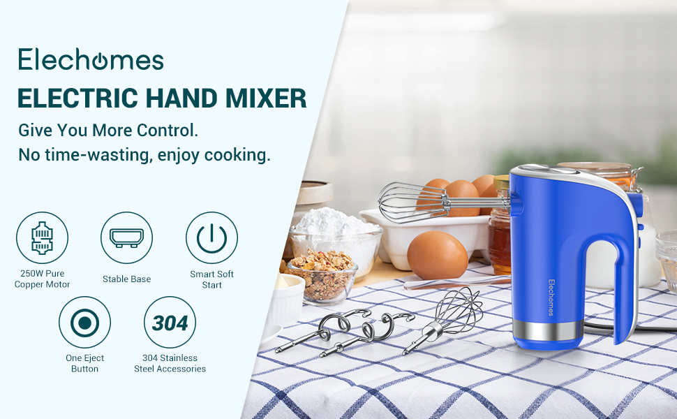 Elechomes hand mixer