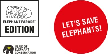 lets save elephants rettet die elefanten elephant parade edition in aid of conservation